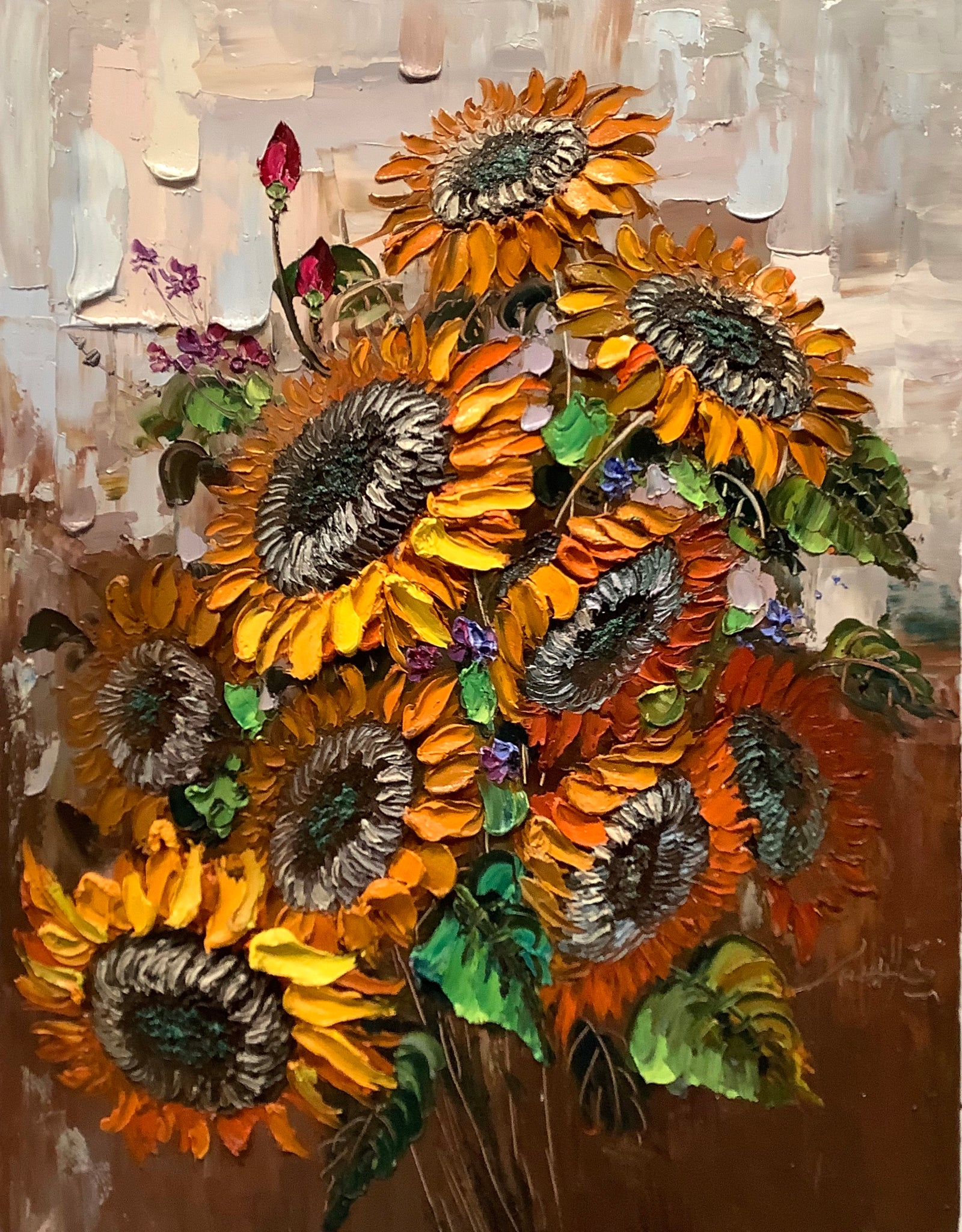 Sun Flower by Zhou ShiQiang