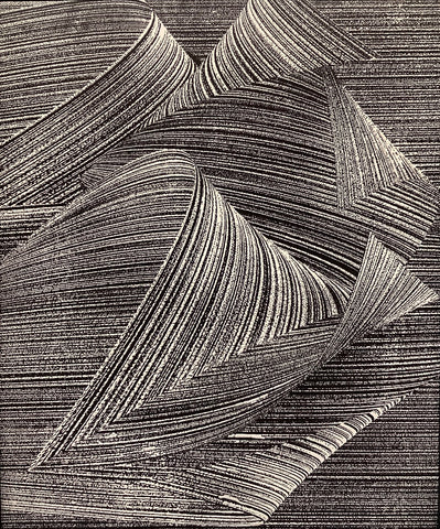 Folds - Abstract Textural Art