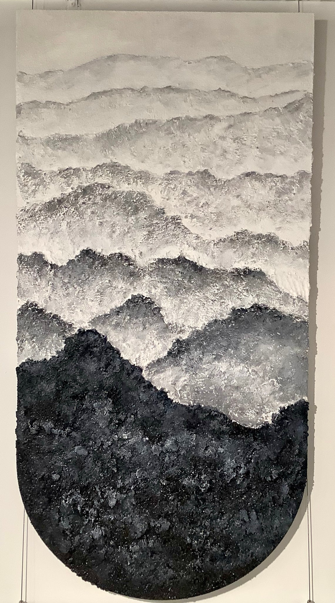 Mountain Mixed Media Art