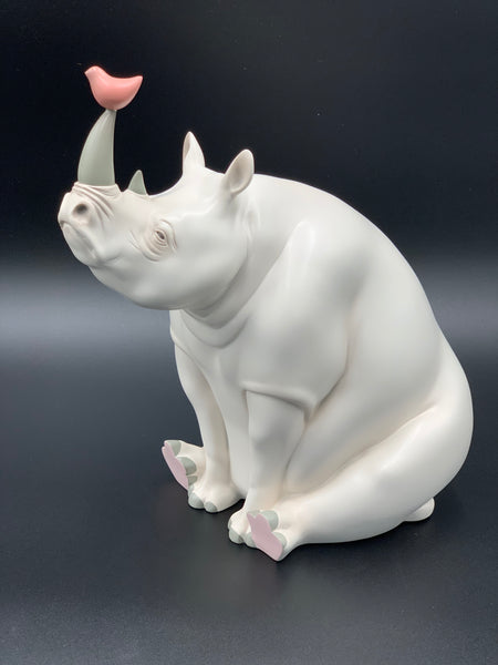 Dream of Fairytales: Pearl Rhinoceros by Jia Xiaoou