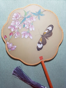 Butterfly Fan by Bella Xue