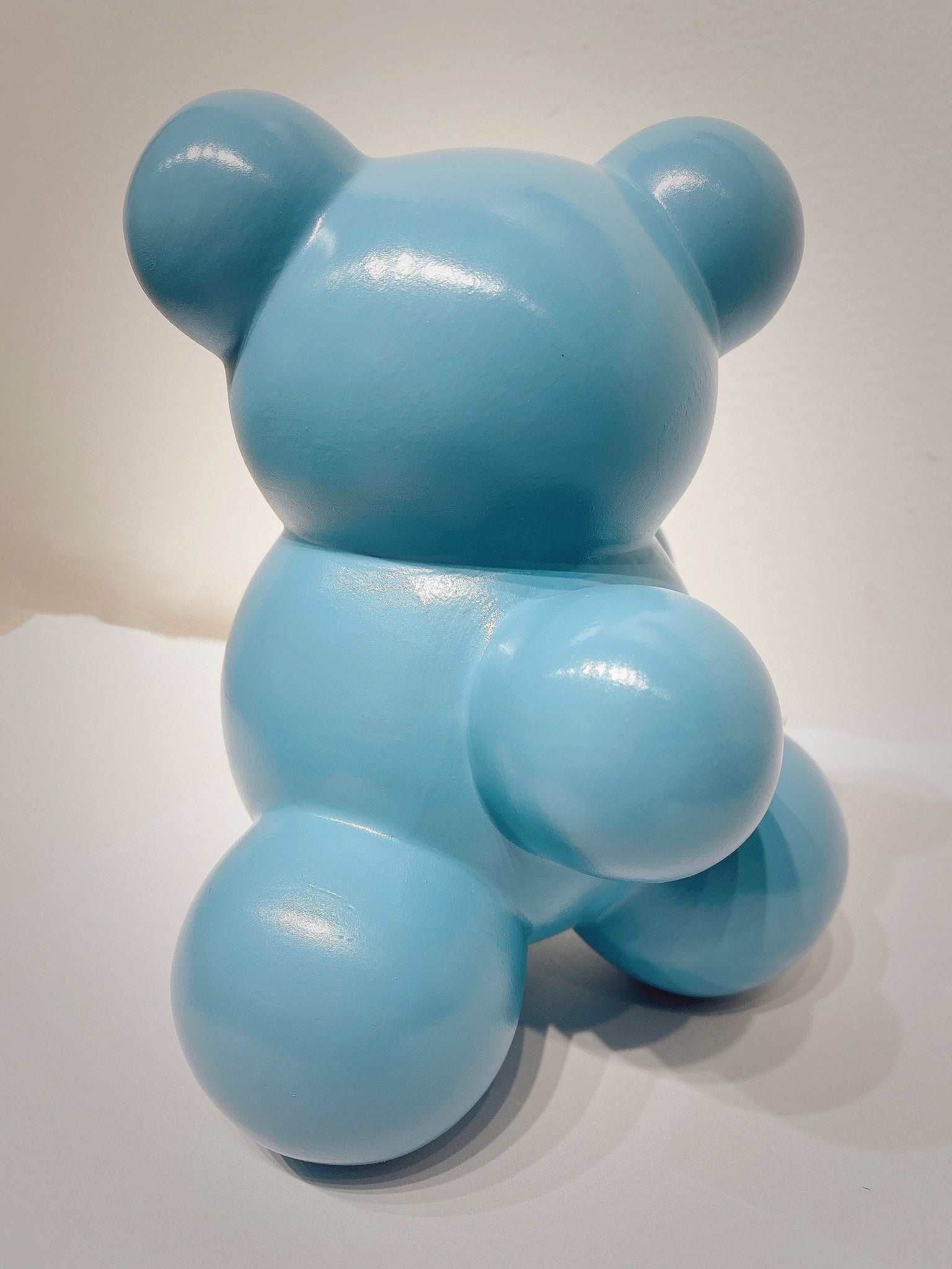 Baby MoBear, the Molecular Bear #4 Pure Blue by Anyuta Gusakova