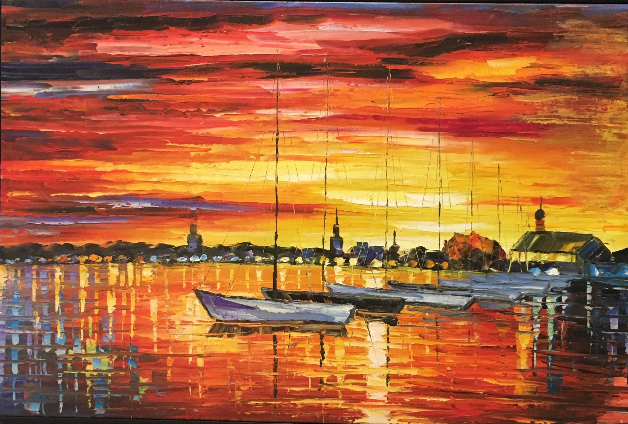 Sunset Painting