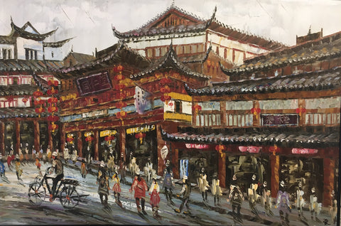 Beijing Old Street Painting