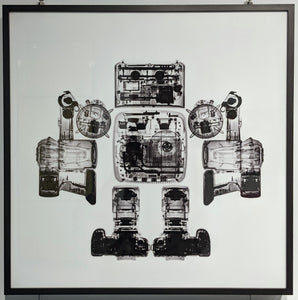 Camera X-Ray Crystal Porcelain Print