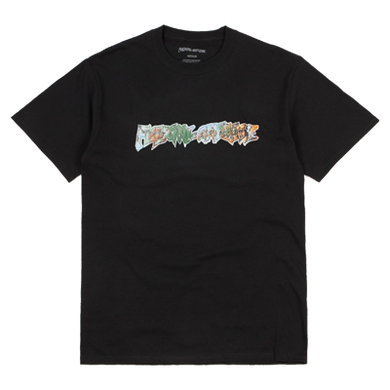 Battlefield Tee Black - LOUNGE