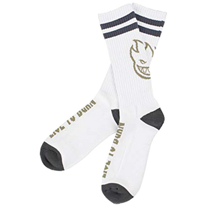 Heads Up Socks White/Grey - LOUNGE