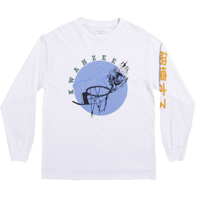 Skynet Long Sleeve White - LOUNGE