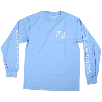 Inside Out Snake Shake Long Sleeve Light Blue - LOUNGE