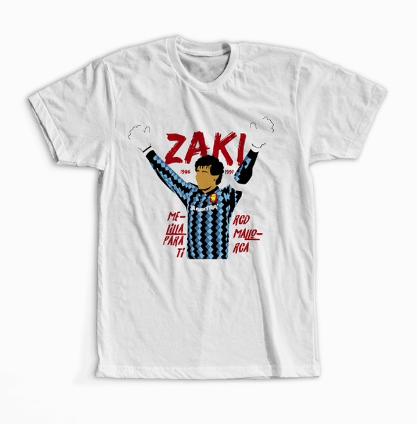 Camiseta ZAKI - Disponible en XXL