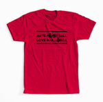 Camiseta 'Hate Football'