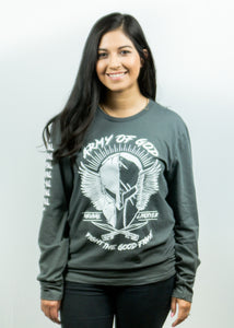 Fight The Good Fight Gray LongSleeve