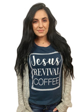 Load image into Gallery viewer, *New* Jesus Revival Coffee. Short-Sleeve (Women's)
