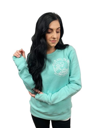 Even The Waves Obey Him Fleece *New* (Women's)