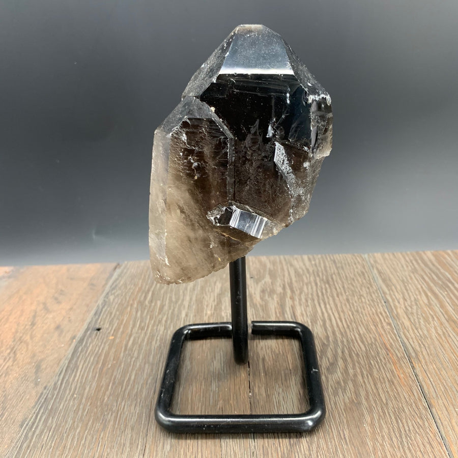 """B"" quality smoky quartz specimen"