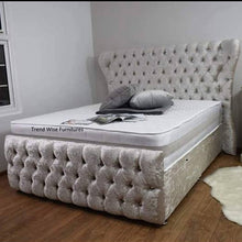 Load image into Gallery viewer, Anabelle Ottoman Bespoke Bed - Bed Empire