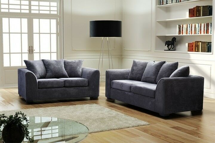 Jumbo Cord Set Sofa - Sleep Villa