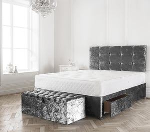 Cube Divan Bed - Sleep Villa