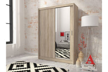 Load image into Gallery viewer, Milan 130/150 Sliding Wardrobe Set. - Sleep Villa