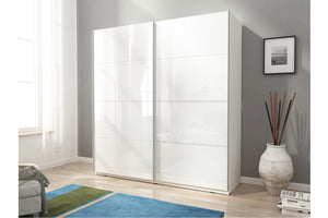 Deco VII Sliding Wardrobe Set. - Bed Empire