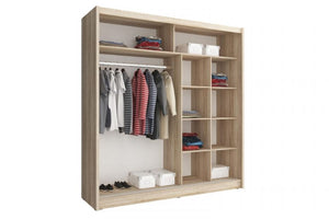 Milan I Sliding Wardrobe Set. - Sleep Villa