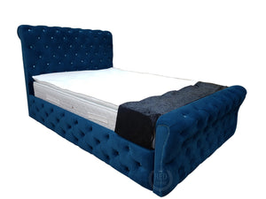 AMELIA (Plush Velvet) Royal Bed - Sleep Villa