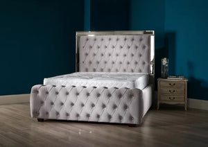 Mirror Esquire Chesterfield Bed - Bed Empire