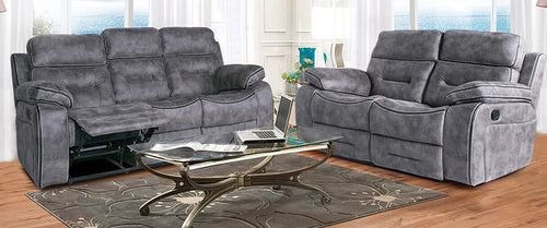 Cambridge Leather Recliner Sofas - Bed Empire