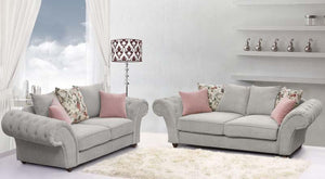 Roma Chesterfield Sofa - Bed Empire