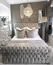 Load image into Gallery viewer, Lucia Button Chesterfield Bed - Bed Empire