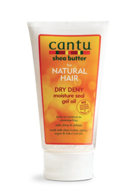 Cantu For Natural Hair Dry Deny Moisture Seal Gel Oil