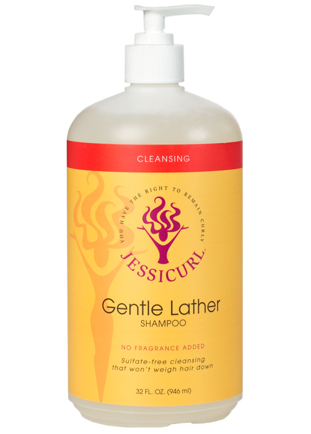 Jessicurl Gentle Lather Shampoo (32 oz. / 946 ml.)