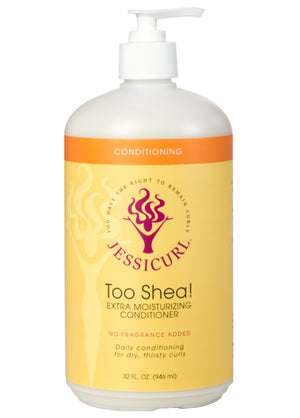 Jessicurl Too Shea Extra Moisturizing Conditioner (32 oz. / 946 ml.)