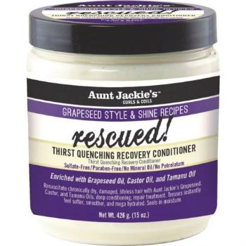 Aunt Jackie's Grapeseed Rescued Thirst Quenching Recovery Conditioner