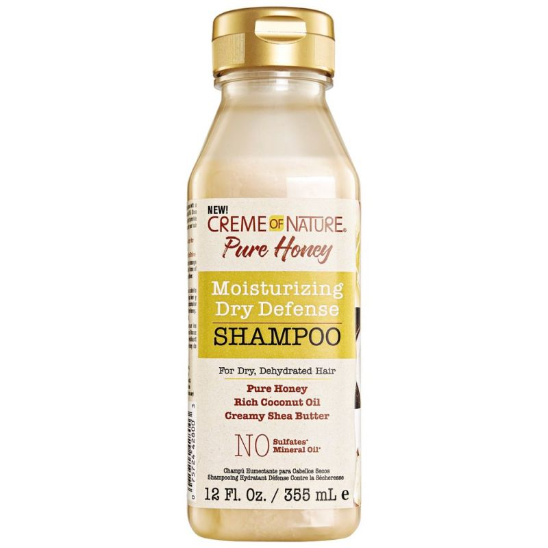 Creme Of Nature Pure Honey Moisturizing Dry Defense Shampoo