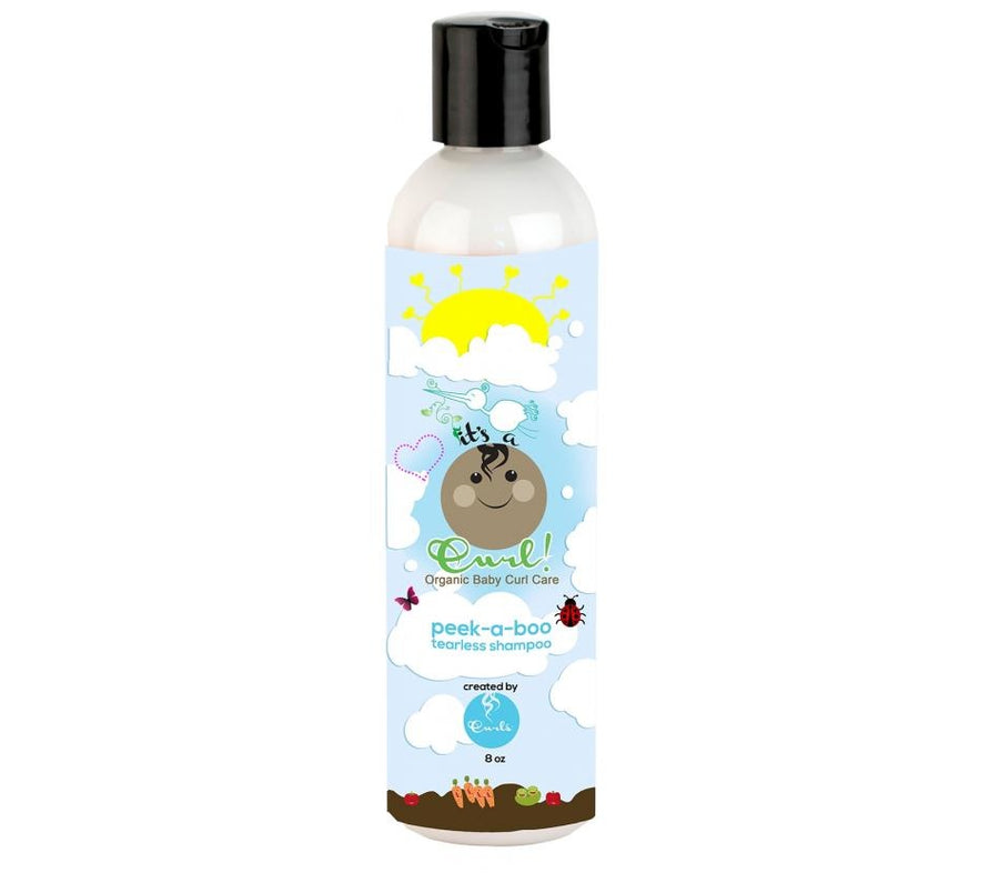 It's a Curl Peek-A-Boo Tearless Baby Shampoo