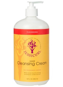 Jessicurl Hair Cleansing Cream (32 oz. / 946ml.)