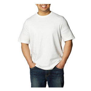Kirkland Signature Men's Peruvian Pima Cotton Crew Neck T-Shirt - White