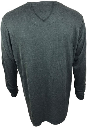 Dakota Grizzly Men's V-Neck Pullover Long Sleeve Shirt- Kale