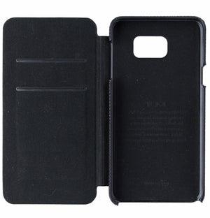 Tumi Leather Flip Case for Samsung Galaxy Note 5 - Black