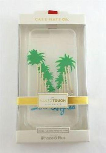 Case-Mate Naked Tough Los Angeles print Back Case for iPhone 6 - Transparent