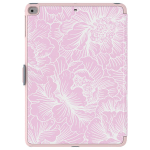 Speck  StyleFolio Flip Case for All iPad Air (2013-2014 models)- Floral Pink