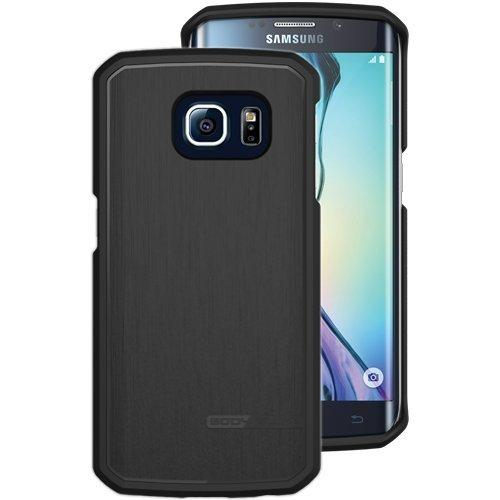 Body Glove Satin Case Back Cover for Samsung Galaxy S6 Edge Plus - Black