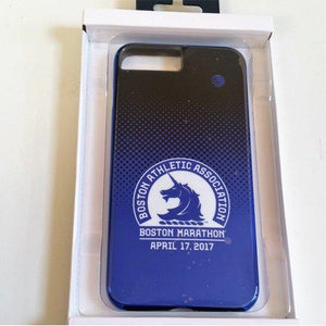 Case-Mate Boston Marathon print Back Case for iPhone 6s/7 - Black with Blue