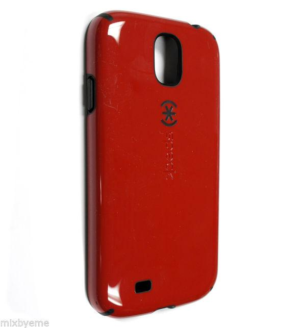 Speck CandyShell Back Cover for Samsung Galaxy S4 -  Poppy Red/Black