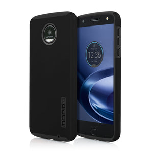 Incipio DualPro Back Cover for Moto Z Droid - Black
