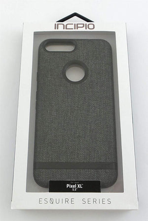 Incipio Esquire Back Cover for Pixel XL (5.5 inches) - Textured Grey