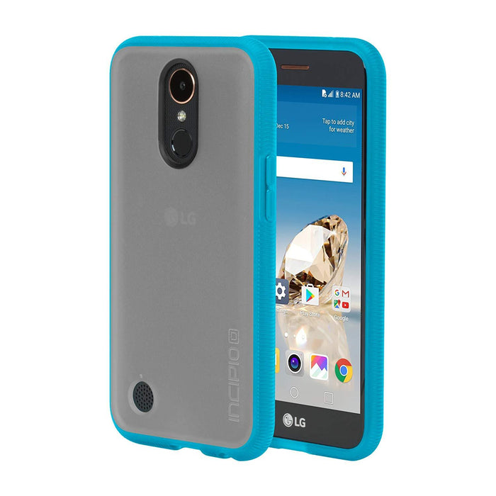 Incipio Octane Back Cover for LG  K20v - Frost/Cyan