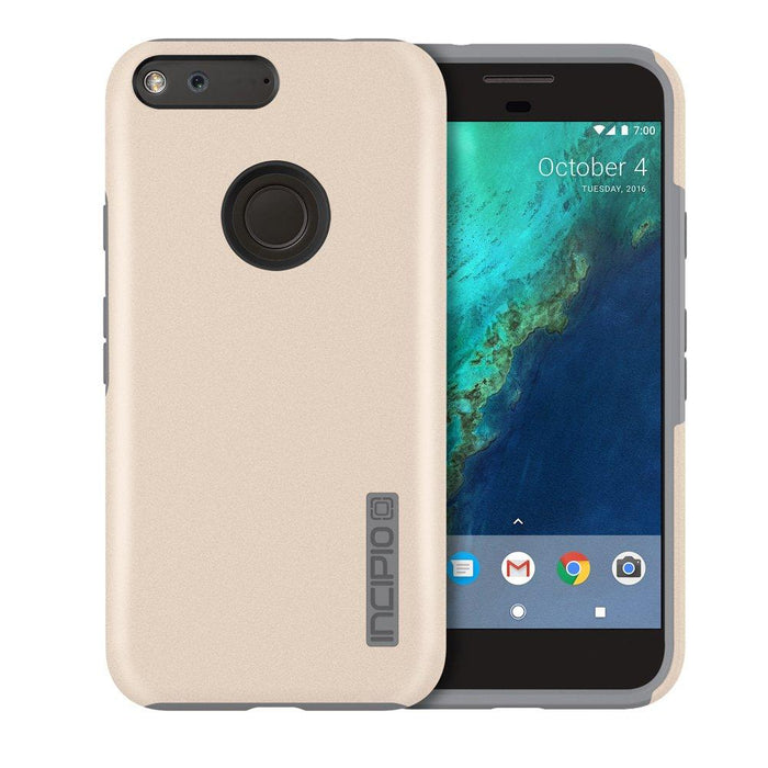 Incipio DualPro Back Cover for Google Pixel (5 inches) - Champagne
