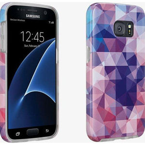 MILK & HONEY Clear Back Case for Samsung Galaxy S7 - Multi Color